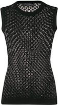 Dolce & Gabbana crochet knitted vest
