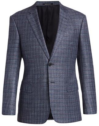 Emporio Armani Bamboo Check Jacket