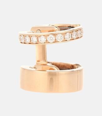 Repossi Berbere Module 18-kt rose gold ear cuff with diamonds