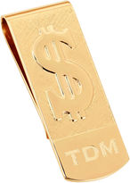 JCPenney JCP Personalized Money Clip w/ Raised Dollar Sign