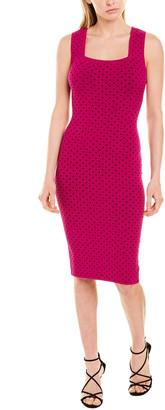 Milly Micro Dot Sheath Dress