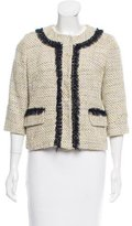 Milly Embellished Tweed Jacket