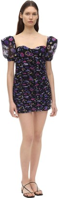 Silvia Astore Pam Floral Printed Mini Dress