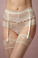 BHLDN Lisianthus Garter Belt