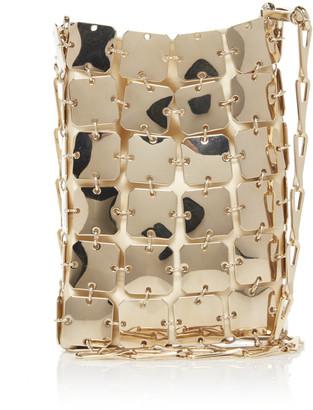 Paco Rabanne Square Mini 1969 Iconic Brass Bag