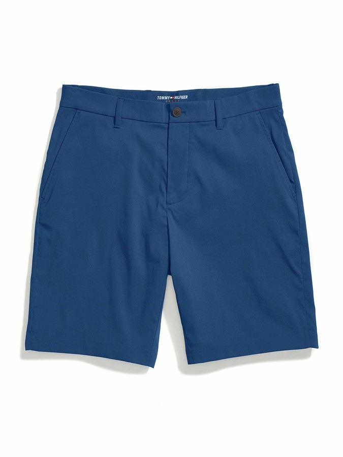 Tommy Hilfiger Mens Adaptive Short with Velcro Brand Closure and Magnetic Fly Casual Shorts