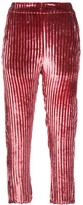 Ann Demeulemeester cropped corduroy trousers
