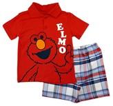 Sesame Street Toddler Boys' Top And Bottom Set - Multicolor