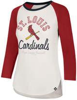 '47 Women's St. Louis Cardinals Vintage Raglan T-Shirt