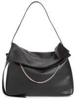 AllSaints 'Large Lafayette' Leather Shoulder Bag - Black