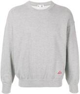 Issey Miyake Pre Owned 1980's Sport Line logo print sweatshirt