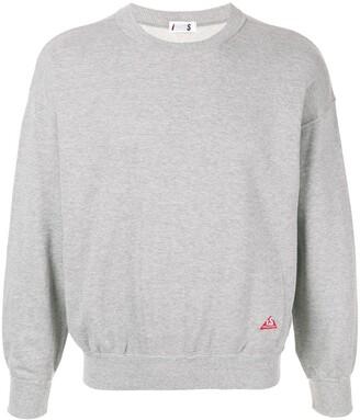 Issey Miyake Pre-Owned 1980's Sport Line logo print sweatshirt