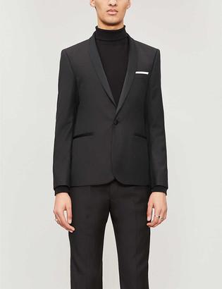 The Kooples Slim-fit wool tuxedo jacket