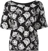 Saint Laurent tiger print T-shirt