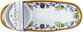 Le Cadeaux Melamine Bowl & Tray Set