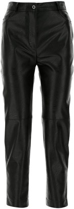 Stella McCartney High-Waisted Cropped Pants