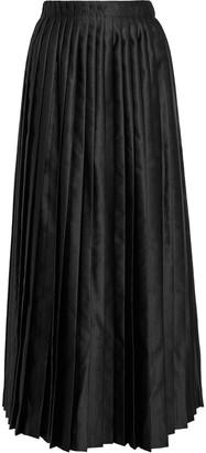 MM6 MAISON MARGIELA Pleated Satin Maxi Skirt