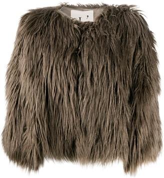 L'Autre Chose Faux-Fur Jacket