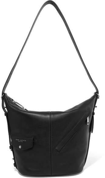 Marc Jacobs Sling Leather Shoulder Bag - Black