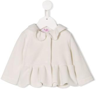 Il Gufo Scalloped Hem Jacket