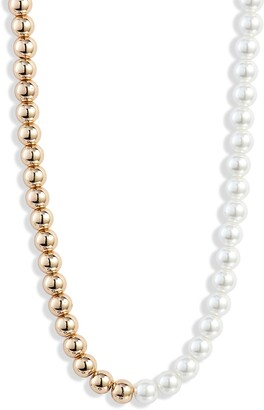8 Other Reasons Naomi Imitation Pearl Beaded Necklace