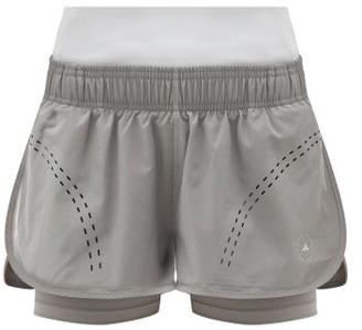 adidas by Stella McCartney Truepurpose Stretch-jersey Running Shorts - Grey