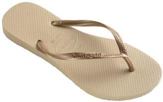 Havaianas Metallic Slim Flip Flops