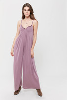 Urban Outfitters Gallant Ruffle Wide Leg Jumpsuit