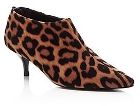 Stella McCartney Women's Leopard-Print Kitten Heel Booties