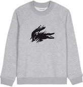 Lacoste Brushed crocodile cotton sweatshirt 4-16 years