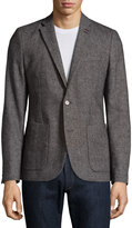 Original Penguin Classic-Fit Patch-Pocket Blazer, Eiffel Tower