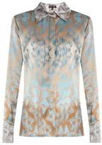 Sophie Theallet Waleska silk-satin shirt