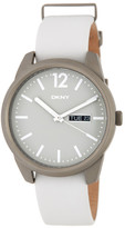 DKNY Women's Gansevoort Leather Strap Watch