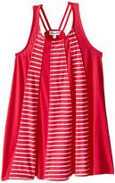 Splendid Littles Striped Dress with Yarn Dye Overlays (Toddler)