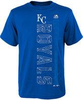 Majestic Boys' Kansas City Royals Baseball Equipment T-Shirt