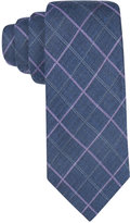 Tasso Elba Men's Seasonal Grid Tie, Only at Macy's