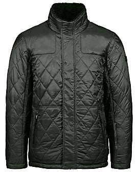 Tumi Men's Quilted Faux Shearling-Lined Jacket