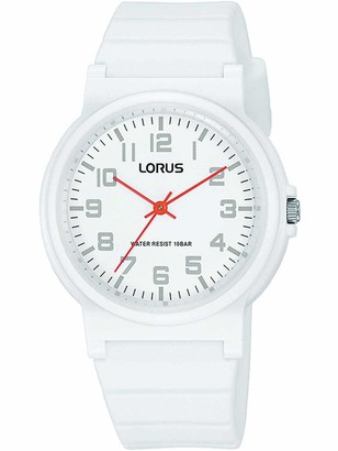Lorus Boy's Analogue Quartz Watch with Silicone Strap RRX41GX9