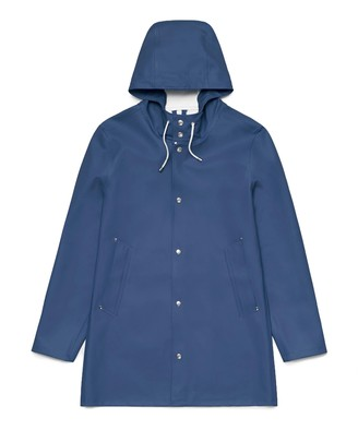 Stutterheim Stockholm Basic Raincoat Indigo