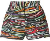 Missoni intarsia knit shorts - women - Cotton/Rayon - 38