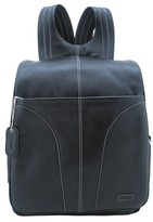 """Leatherbay 15"""" Leather Laptop Backpack"""