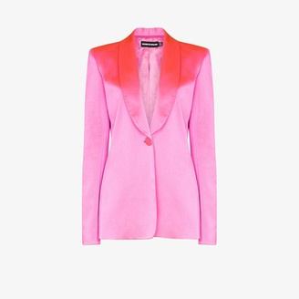 House of Holland Tailored Satin Blazer