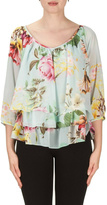Joseph Ribkoff Flower Top