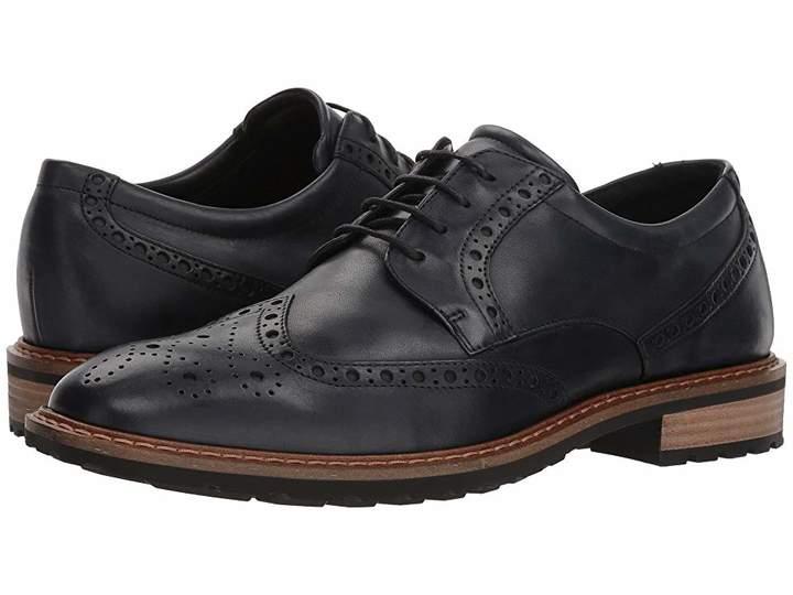 Ecco Vitrus I Wingtip Tie Men's Lace Up Wing Tip Shoes