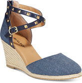Rialto Campari Espadrille Wedge Sandals