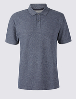 M&S Collection Big & Tall Pure Cotton Polo Shirt