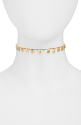 Anna Beck Ribbed Charm Choker Necklace