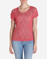 Eddie Bauer Women's Beachside T-Shirt Sweater