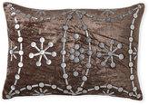 cloud 9 Velvet Oblong Pillow with Embellished Front
