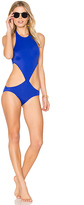Norma Kamali Chuck One Piece in Blue. - size S (also in XS)